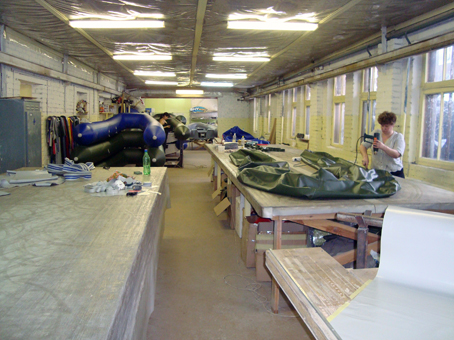 производство лодок в янино