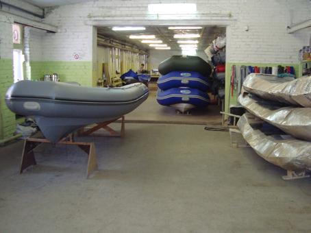 лодки риб производство